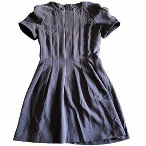 W118 by Walter Baker black short sleeve mini dress